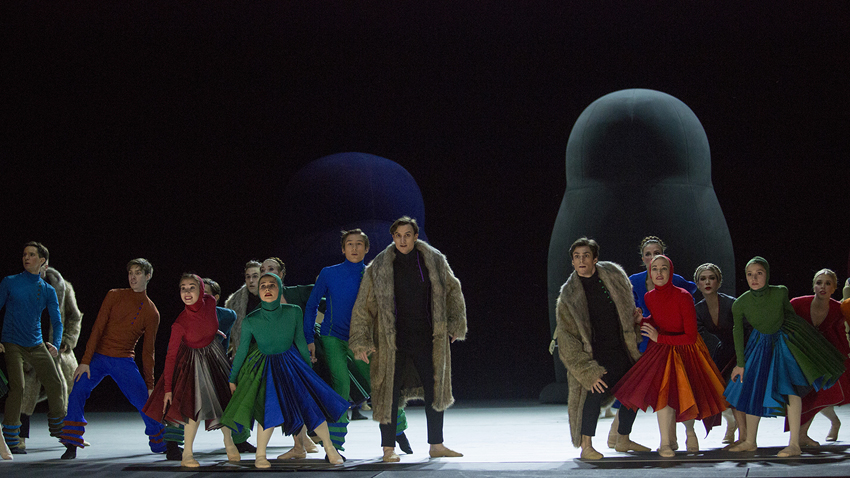 A scene from the performance.Photo by Elena Fetisova/ Bolshoi Theatre.