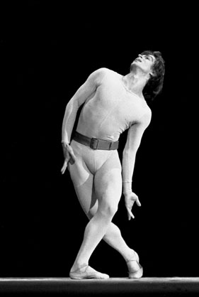 Nureyev in Songs of a Wayfarer.